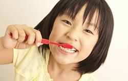 八潮駅のお子さんの予防歯科のイメージ
